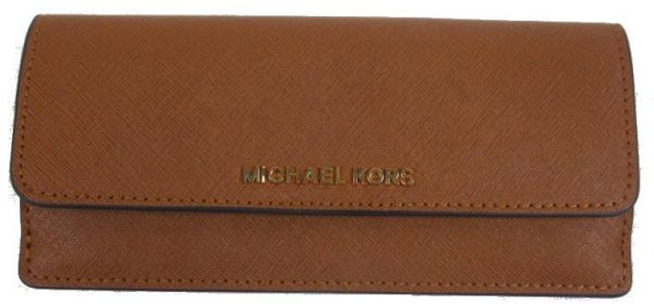 c7a59f7f0c84 Michael Kors Jet Set Travel Saffiano Leather Flat Wallet. by Michael Kors