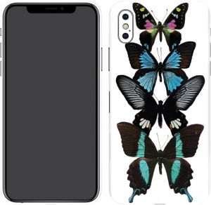 Switch iPhone X Skin Butterflies 001