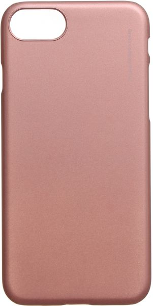 detailed look 7824f 88eb0 X-Level Metallic Back Cover For Apple iPhone 7, Rose Gold