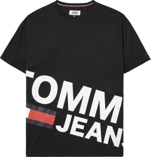 0a6c2502504546 tommy Hilfiger T-Shirt For Men - Black Price in Saudi Arabia | Souq ...