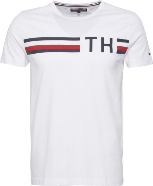 b03c859d Tommy Hilfiger T-Shirt For Men - White Price in Saudi Arabia | Souq ...