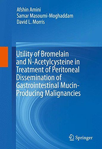 Utility of Bromelain and N-Acetylcysteine in Treatment of Peritoneal Dissemination of Gastrointestin