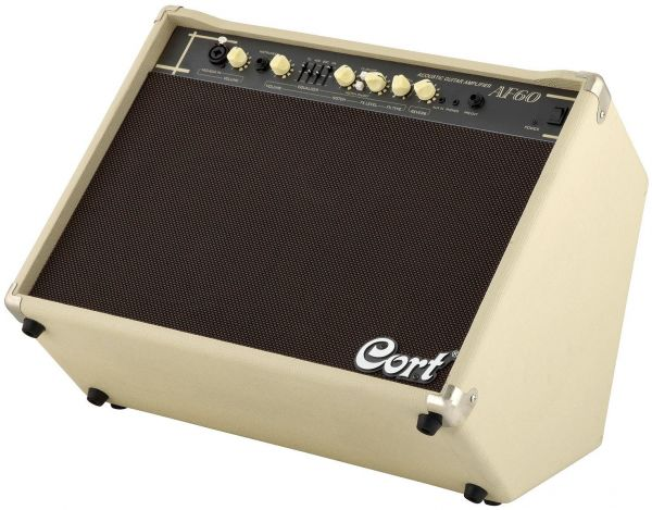 Cort Af60 60watt Acoustic Guitar Amplifier With Mic Input Ksa Souq