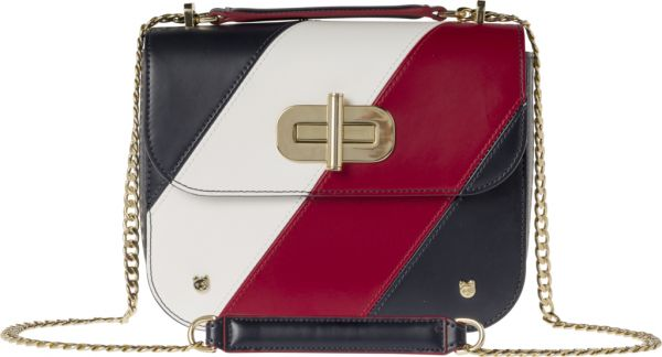 c18d67acb88 Tommy Hilfiger Turn Lock Crossbody Bag for Women, Leather - Corporate