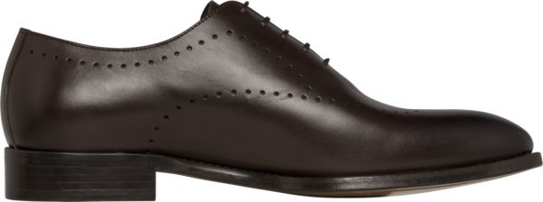 23051e9be Tommy Hilfiger Tailored Brogue Oxford Shoes for Men - Brown