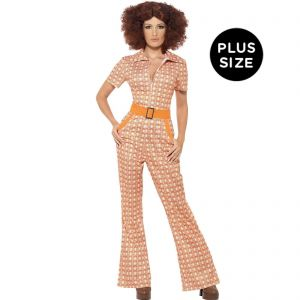 4a0c094028998a Smiffy s Women s Authentic 70 s Chic Costume