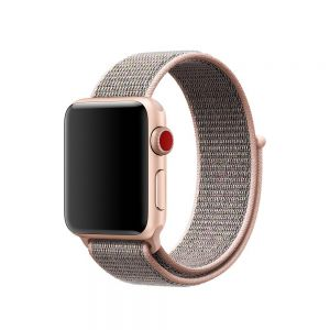 2017 Newest Woven Nylon Band for Apple Watch 38mm & 42mm Series 3/2/1 , Uniquely and Artistically Designed Replacement Strap for iWatch, Comfortably Light ...
