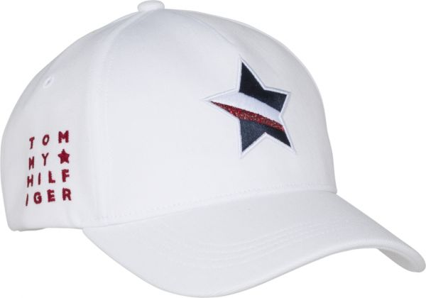 9cd110262 Tommy Hilfiger Mascot Race Snapback Cap for Women - Bright White ...