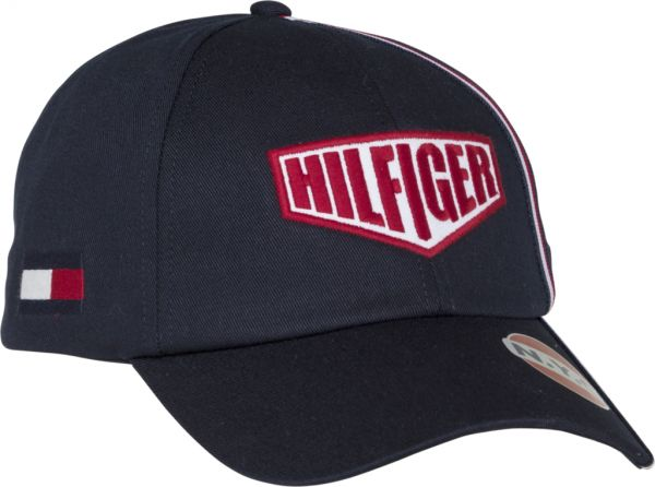Tommy Hilfiger Racing Badge Snapback Cap for Men - Tommy Navy 1eb16a3d30c4