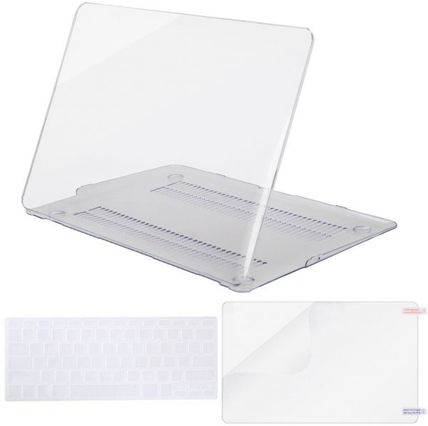 Clear Hard Case /& Keyboard /& Screen Protector For Macbook Air 13/'/' A1932//A1466