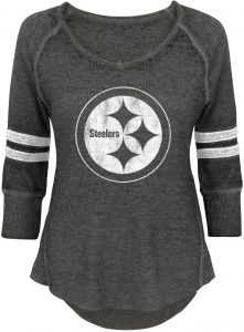 NFL by Outerstuff NFL Junior Girls Relaxed 3 4 Thermal Top 8317e96c5