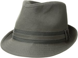 U.S. Polo Assn. Men s Cotton Twill Fedora Grosgrain Hat Band 60dff5d537d