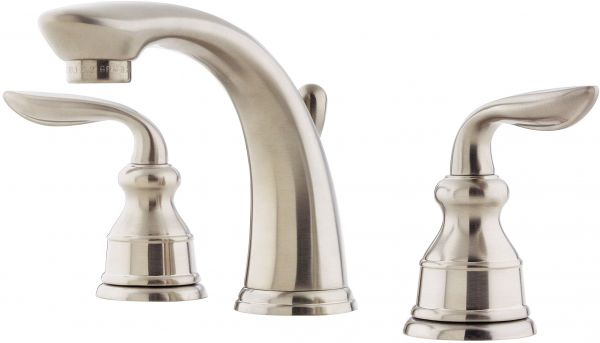Pfister Lf049cb0k Avalon 2 Handle 8 Inch Widespread Bathroom Faucet