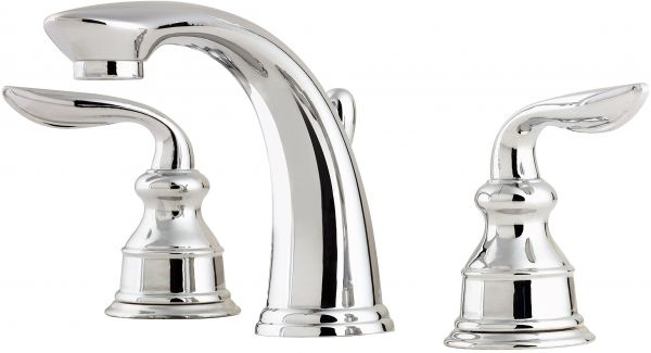 Pfister Lfm49cbcc Avalon 2 Handle 8 Inch Widespread Bathroom Faucet