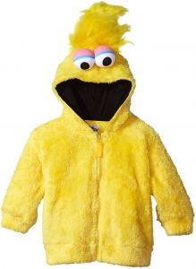 a5c11d6515b Sesame Street Toddler Boys  Fuzzy Costume Hoodie (Multiple Characters)