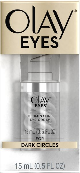 Olay Eyes Illuminating Eye Cream to Help Reduce the look of Dark Circles  Under Eyes, 0 5 Fl Oz Packaging may Vary