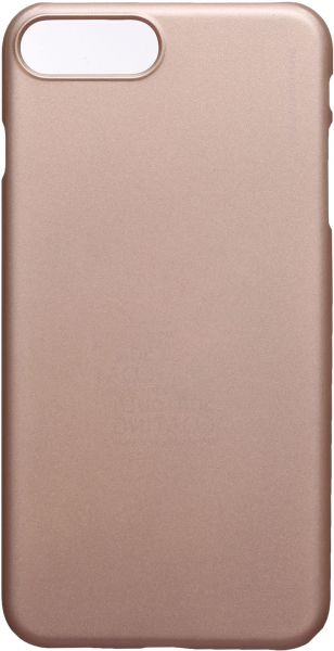 X-Level Metalic Back Cover For Apple Iphone 7 Plus, Gold