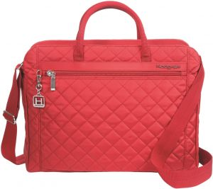 8631aac8f427 Hedgren Pauline Stylish Quilted Laptop Bag with Detachable Shoulder Strap