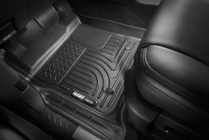 Standard Husky Liners Front Floor Liners Fits 16-17 Tacoma Double//Access Cab