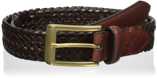 U S Polo Assn Men S Men S Leather Belt 30mm Wide Braided Stretch