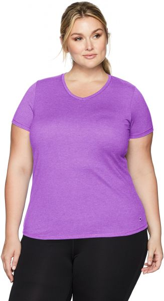 9976c5f0 Champion Women's Plus Size Double Dry Cotton Tee, Purple Reef Heather, 4X.  by Champion, Sportswear - 1 rating