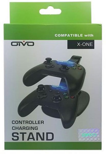 OTVO Dual Charging Stand for Xbox One Controller - Black