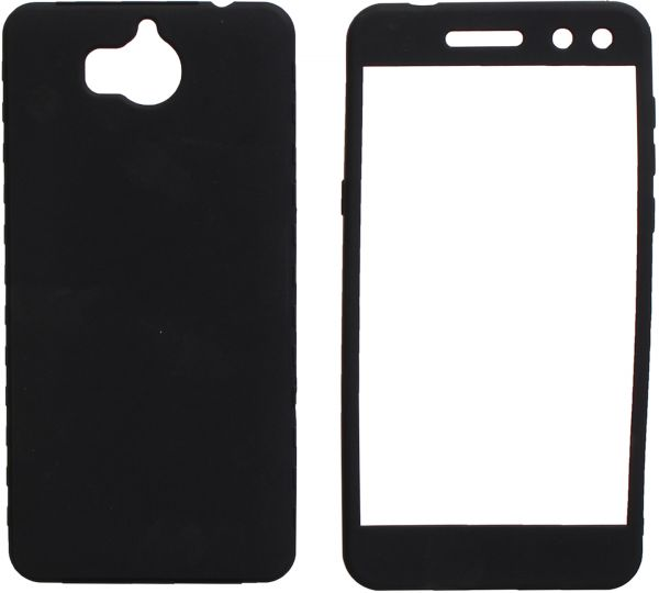 the latest 5b05e 2eb7c Full Cover 360 For Huawei Y5 2017, Black