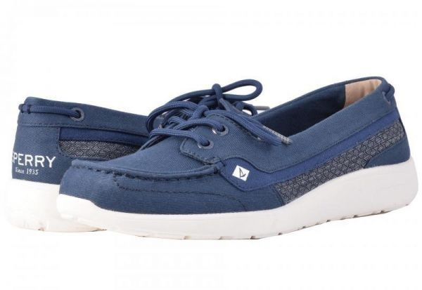 82d9b3aace6 Sperry Navy Loafers For Women