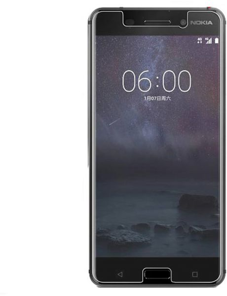 Protective Nokia 6 (2018) Tempered Glass HD Clear Screen Protector