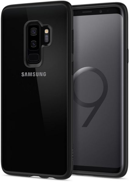 info for 83c40 53329 Spigen Samsung Galaxy S9 PLUS Ultra Hybrid cover / case - Matte Black