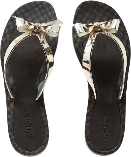 51754b96765e Guess Thong Slippers for Women - Gold Price in Saudi Arabia