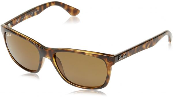 003d3f18ef Ray Ban RB4181 Highstreet Sunglasses - 710 83 Tortoise (Polarized Brown  Classic B-15XLT Lens) - 57mm