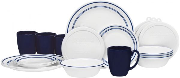 This item is currently out of stock  sc 1 st  Souq.com & Souq | Corelle 20 Piece Livingware Dinnerware Set with Storage ...