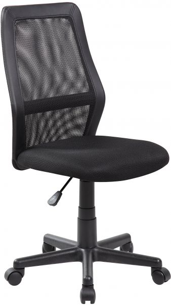 High Back Adjule Ergonomic Mesh Swivel Computer Office Desk Task Chair Jet Black