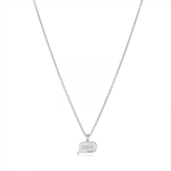 Souq juicy couture womens silver brass cubic zirconia chain juicy couture womens silver brass cubic zirconia chain necklace jcwjw57476 aloadofball Gallery