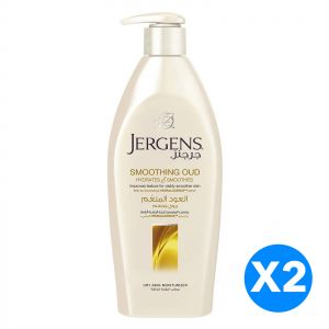 Jergens Smoothing Oud Dry Skin Moisturiser, 400ml - 2 Pieces