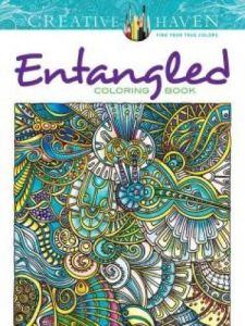 Creative Haven Entangled Coloring Book By Angela