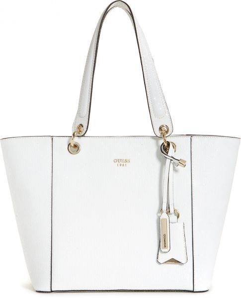 Guess Tote Bag for Women, white - GS66912