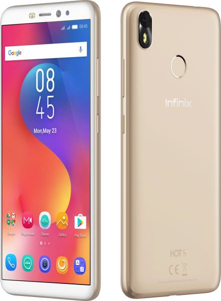 Infinix Hot S3 X573 Dual SIM - 32GB, 3GB RAM, 4G LTE, Gold Blush