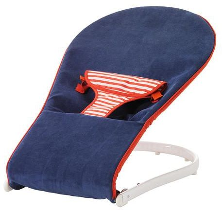Baby Bouncer Blue Red