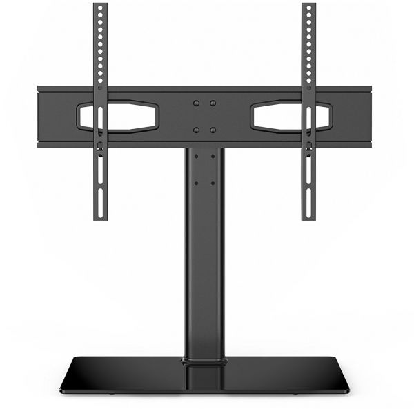 Fitueyes Pedestal Tabletop Tv Riser Stand Fit 32 To 60 Inch Led Lcd Screen Height Adjule Black Tt105201gb Souq Uae