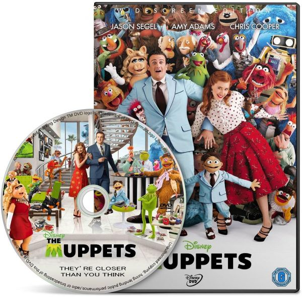 55cc693c The Muppets (2011), DVD Movie, Language: English with Arabic Subtitle. |  KSA | Souq
