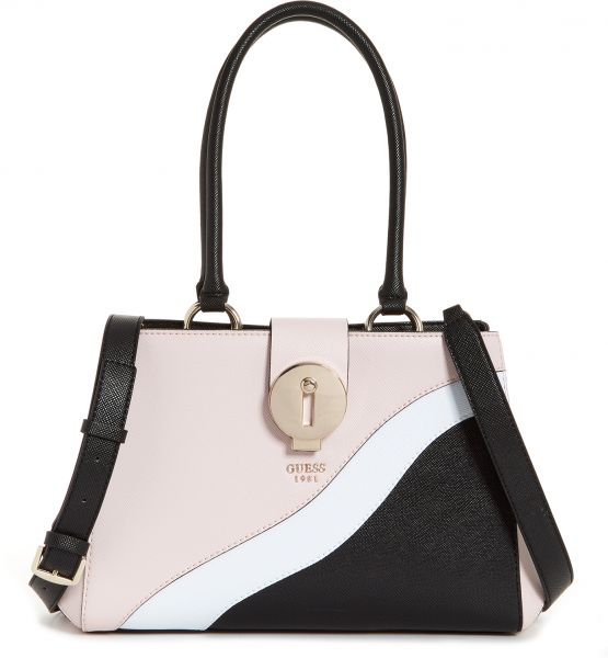 Guess Satchels Bag for Women, Light Pink VG679609 MCA