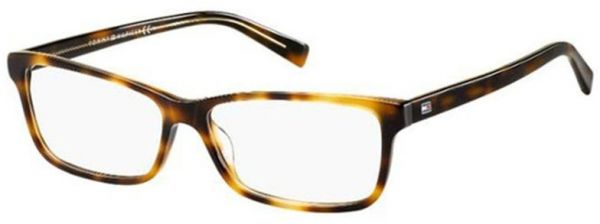 06cdbda6124 Tommy Hilfiger Rectangle Glasses Frame For Women - Brown