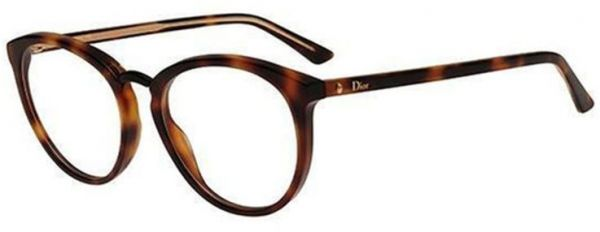 0d818c065cbc Christian Dior Glasses Frame Round For Women - Brown