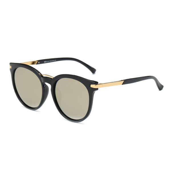 cd0f87b41a DONNA Popular Oversized Round Sunglasses Hipster Big Circle Shades for  Women Men Polarized Anti Glare Lens D29(Yellow Brown)