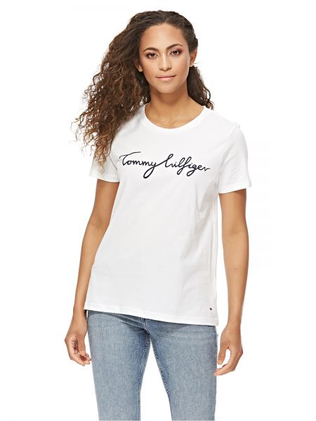 5761922c7 Tommy Hilfiger T-Shirt for Women - White Price in UAE | Souq ...