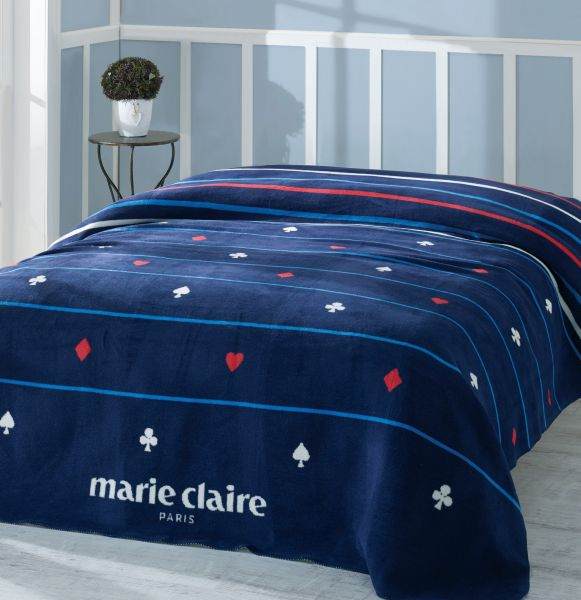 e29af2b46f Buy Marie Claire Carte Blanket - 150 x 200 cm - Blue in UAE