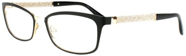 1f783ce4555 Jimmy Choo Glasses Frame Rectangle For Women - Black