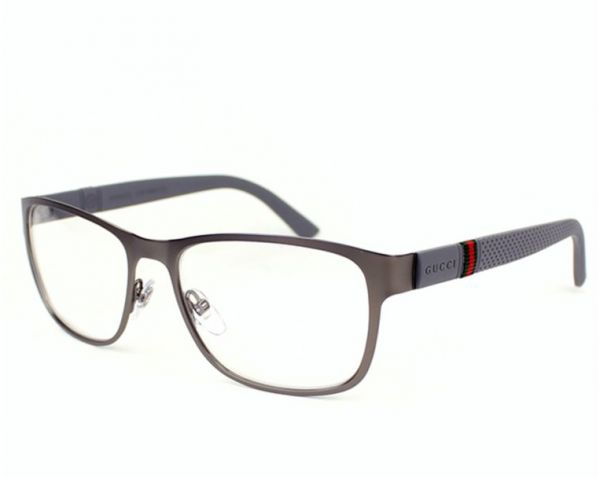 9add045aef8 Gucci Glasses Frame Rectangle For Men - Black